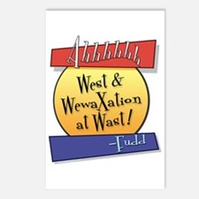 West... Postcards (Package of 8)