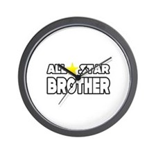 """All Star Brother"" Wall Clock"
