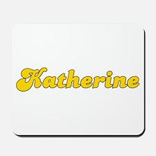 Retro Katherine (Gold) Mousepad