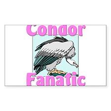 Condor Fanatic Rectangle Decal
