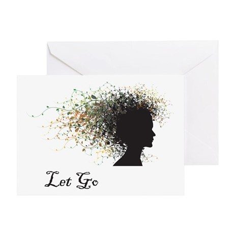 Let Go Greeting Card