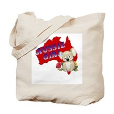 Aussie Girl Tote Bag