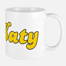 Retro Katy (Gold) Mug