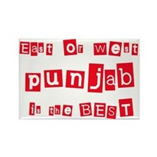 East or West Punjab is the Be Rectangle Magnet