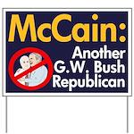 McCain: Another Bush Yard Sign