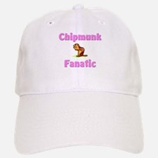 Chipmunk Fanatic Baseball Baseball Cap