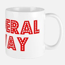 Retro Federal Way (Red) Mug