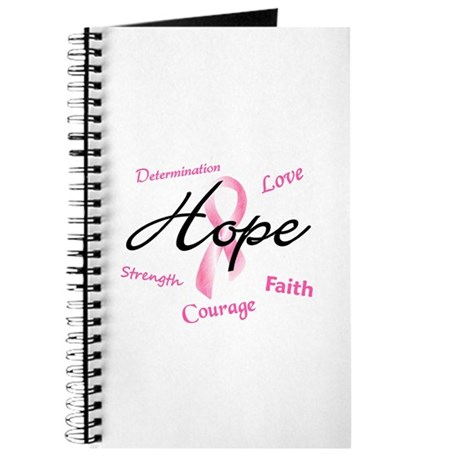 Courage Faith Love Hope 5 (Pink) Journal