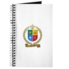 BEDARD Family Crest Journal