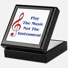 Play The Music Keepsake Box
