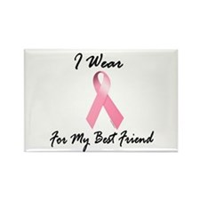 I Wear Pink For My Best Friend 1.2 Rectangle Magne