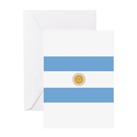 Argentina Flag Greeting Card