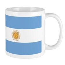 Argentina Flag Small Mug