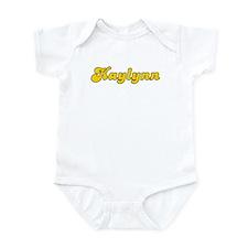 Retro Kaylynn (Gold) Infant Bodysuit