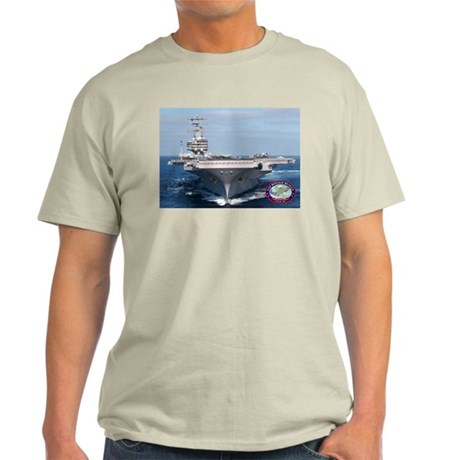 USS Ronald Reagan CVN-76 Light T-Shirt