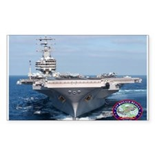 USS Ronald Reagan CVN-76 Rectangle Decal
