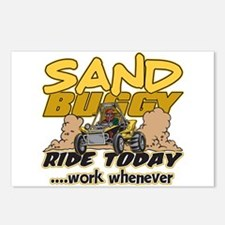 Sand Buggy Ride Today Postcards (Package of 8)