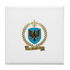 BEGIN Family Crest Tile Coaster