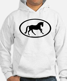Canter Horse Oval Jumper Hoody