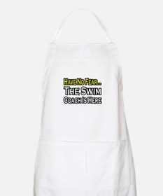"""Have No Fear, Swim Coach"" BBQ Apron"