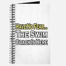 """Have No Fear, Swim Coach"" Journal"
