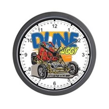 Dune Buggy Dirt Wall Clock