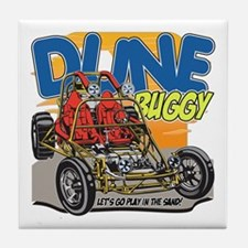 Dune Buggy Let's Go Play in the Sand Tile Coaster