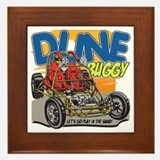 Dune Buggy Let's Go Play in the Sand Framed Tile
