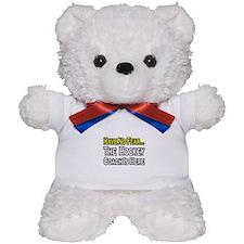 """""""Have No Fear, Hockey Coach"""" Teddy Bear"""