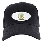 BELANGER Family Crest Black Cap