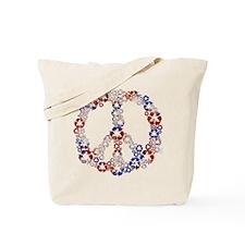 Patriotic Recycle Peace Tote Bag