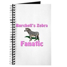 Burchell's Zebra Fanatic Journal