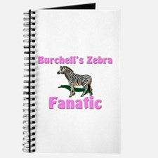 Burchell's Zebra Fanatic Journal
