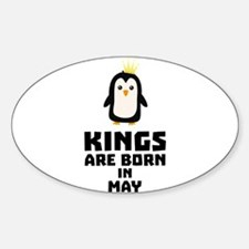 kings born in MAY C8l1m Decal