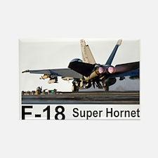 F-18 Super Hornet Rectangle Magnet