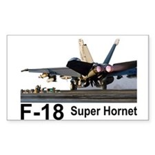 F-18 Super Hornet Rectangle Decal