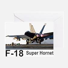 F-18 Super Hornet Greeting Card