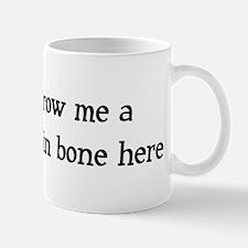 Throw me a frickin bone here Mug