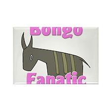 Bongo Fanatic Rectangle Magnet
