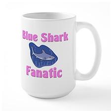 Blue Shark Fanatic Mug