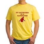 FUNNY BOYFRIEND SHIRT MY BOYF Yellow T-Shirt