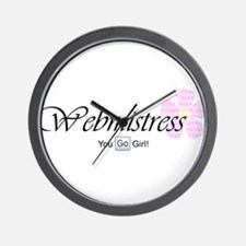 Webmistress Wall Clock