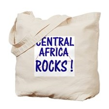 Central Africa Rocks ! Tote Bag