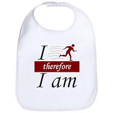 I run, therefore I am Bib