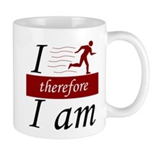 I run, therefore I am Mug