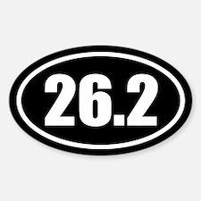 26.2 Marathon Oval Oval Sticker (10 pk)