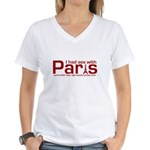 SEX WITH PARIS SHIRT T-SHIRT Women's V-Neck T-Shir