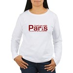 SEX WITH PARIS SHIRT T-SHIRT Women's Long Sleeve T