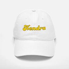 Retro Kendra (Gold) Baseball Baseball Cap