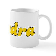 Retro Kendra (Gold) Mug
